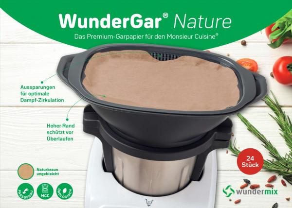 WunderGar®   Dampfgarpapier für Monsieur Cuisine